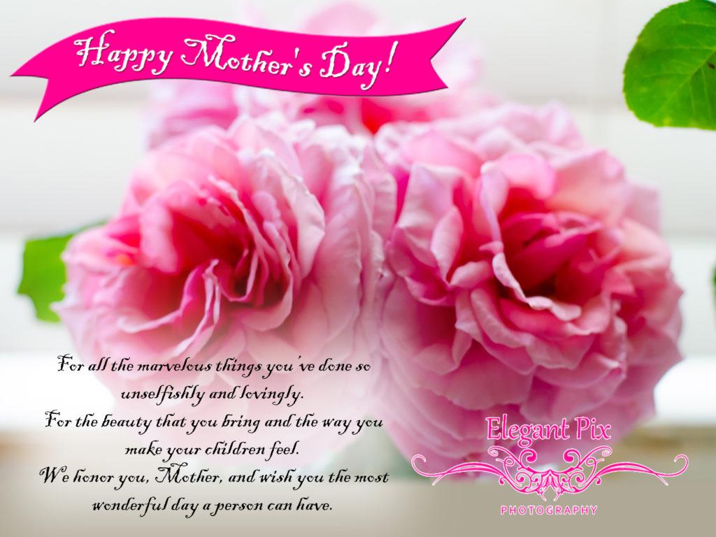Happy Mother's Day Elegant Pix